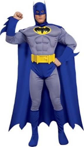 BATMAN ~ The Brave & The Bold (Muscle Chest) - Adult Costume Man: M (38-40