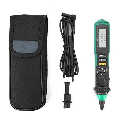 Walfront MS8211D - Multímetro digital con pantalla LCD, rango automático, voltaje sin contacto, resistencia a la corriente, diodo, detector de conectividad