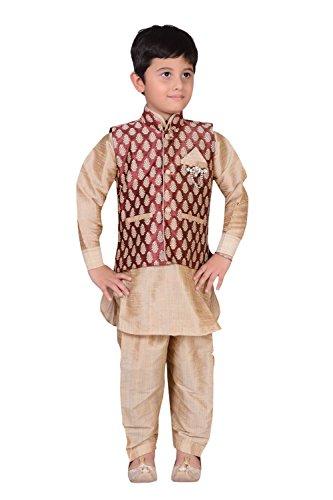 Preisvergleich Produktbild Jungen indischen Sherwani Kids Kurta Kameez mit Weste für Bollywood Thema Party Kostüm Hochzeit 883