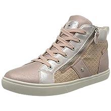 Lico Loren, Sneaker a Collo Alto Donna, Rosa, 38 EU