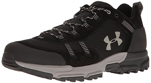 Under Armour Mens Post Canyon Low Black/Black/Pewter
