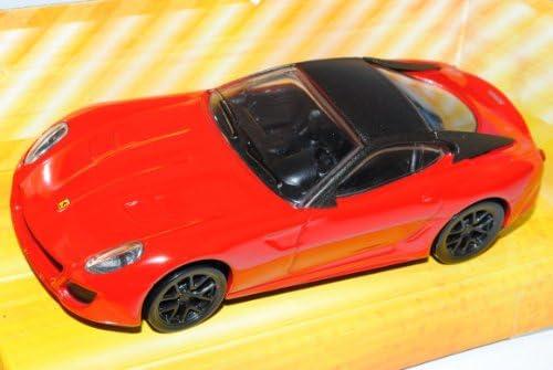 Ferrari 599 GTO Coupe Rot 1/43 Mattel Mattel Mattel Hot Wheels Modell Auto mit individiuellem Wunschkennzeichen 087f5e