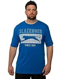 Slazenger Kingsize Stiles T-Shirt Blue