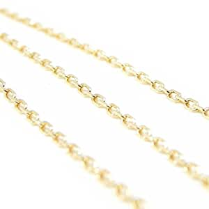 Les Trésors De Lily [F3956] - Chaine Plaqué Or 'Forçat' 80 cm 2. 1 mm