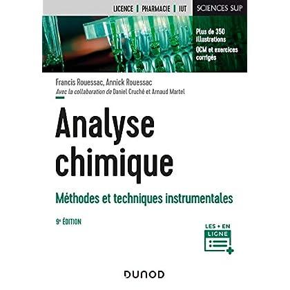Analyse chimique - 9e éd. - Méthodes et techniques instrumentales