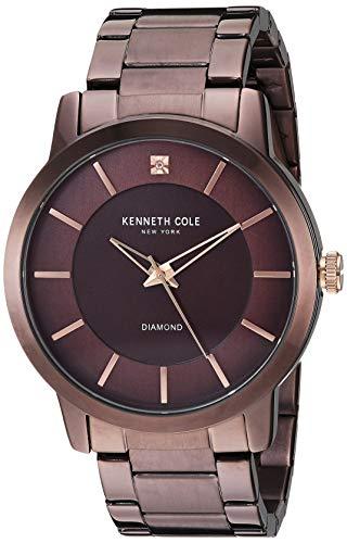 Kenneth Cole Orologio Quarzo analogico Uomo con Cinturino in Acciaio Inox KC15114004