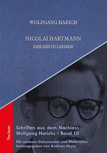 Nicolai Hartmann: Der erste Lehrer
