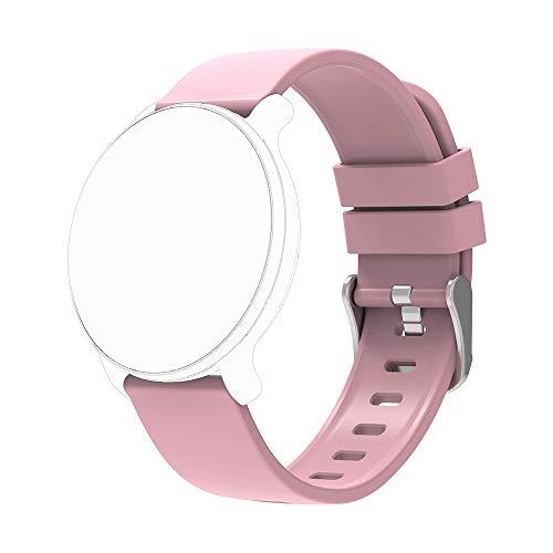 moreFit Vogue Ersatzband, Verstellbarer Ersatzriemen Smart Wristband (Rosa)