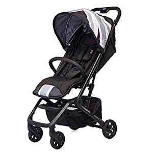 Baby Stroller Can Sit Reclining Light Folding Child Baby Child Simple Newborn Four-wheeled Baby Stroller (Color : BLUE)   3