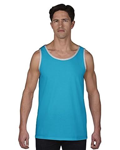 Anvil Mens Fashion Basic Tank Top / Sleeveless Vest (L)