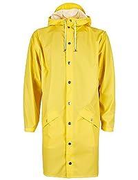 Rains Long Jacket, Abrigo Impermeable para Hombre