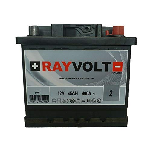 Batterie auto RAYVOLT RV1 45AH 400A