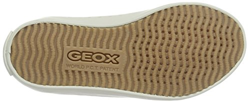 Geox Mädchen Jr Kiwi Girl B Low-Top Beige (Beigec5000)