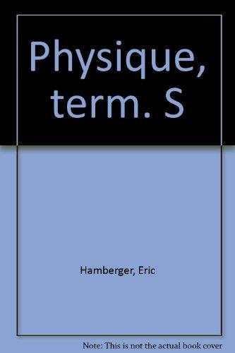 Physique, terminale S