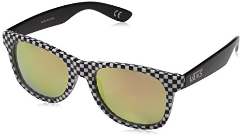 Vans Herren Spicoli 4 Shades Sonnenbrille, Checkerboard-Black-Red, 1