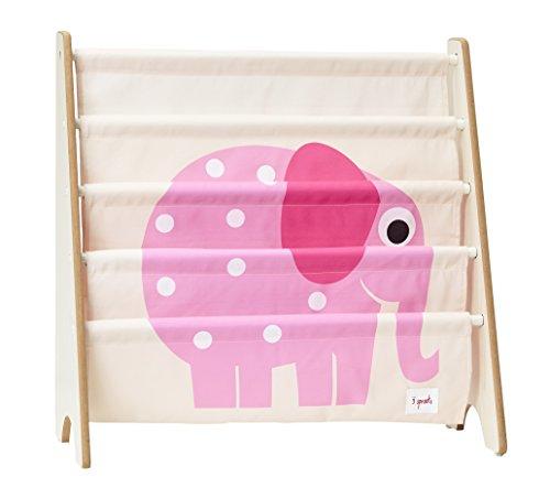 3 Sprouts Bücherregal Bücheraufbewahrung Elefant -