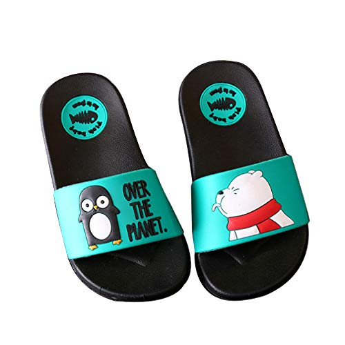 KVbaby Kids Antiskid Lovely Bathroom Slipper Boys Girls Beach Pool Shoes Soft Flip Flops Home Slippers Quick-Drying