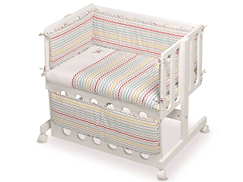 pirulos 24911630–vestidura bébé Co-Dodo Motif espin, coton, Couleur Blanc et Lin
