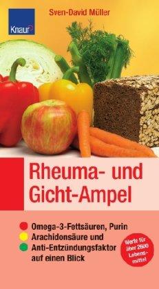 Rheuma- und Gicht-Ampel: Omega-3-Fettsäuren, Purin, Arachidonsäure und Anti-Entzündungsfaktor auf einen Blick. Werte für über 2600 Lebensmittel. ... für Ernährungsmedizin und Diätetik e.V. -
