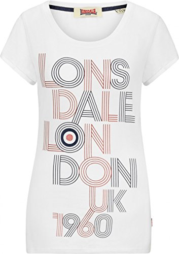 Lonsdale Ladies T-Shirt Ilchester white