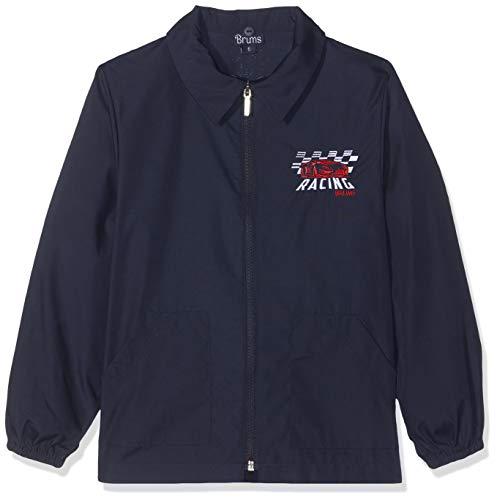 Brums grembiule casacca zip, bambino, (blu 14 285), 116 (taglia produttore:6 anni)
