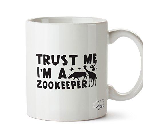 hippowarehouse Trust Me I 'm A Tierpfleger 283,5Tasse, keramik, weiß, One Size (Tierpfleger Outfit)