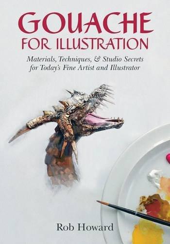 Gouache for Illustration por Rob Howard