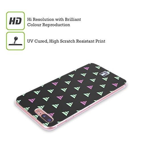 Head Case Designs Triangles Bleus Et Verts Estampes Géométriques Optiques Étui Coque en Gel molle pour Apple iPhone 5c Triangles Rayés