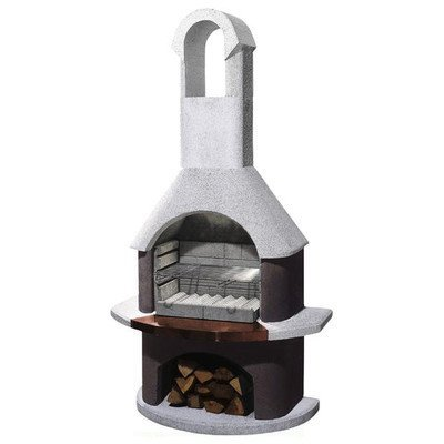 54cm St Moritz Masonry Charcoal Barbecue