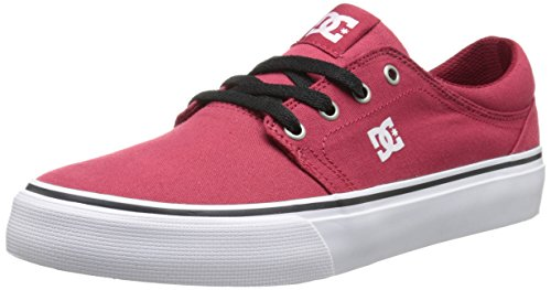 DC Shoes Trase Tx, Baskets mode homme rouge (DARK RED- DRK)
