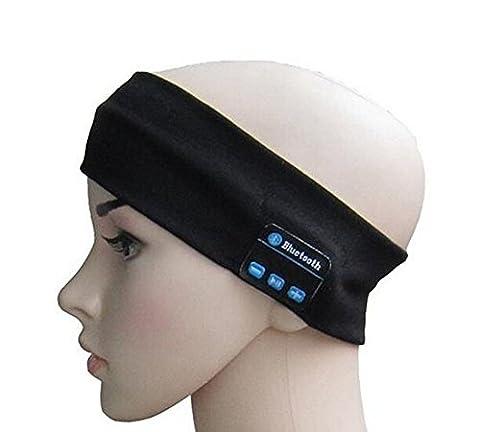 SUNNIOR mains libres sans fil Bluetooth tricotée Musique Bandeau avec