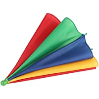 Wafalano Regenschirm, beweglicher Fischen-kampierender Strand Regenschirm-Hut-Mehrfarbenkappe Sun-Regen-Regenschirm nagelneuer heißer