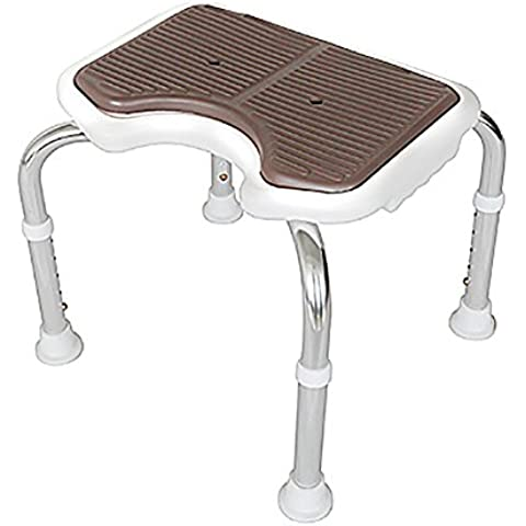 flashing lights- Asamblea silla de baño Tipo de ancianos El baño antideslizante banco de ducha silla de baño de las mujeres embarazadas anti-caída