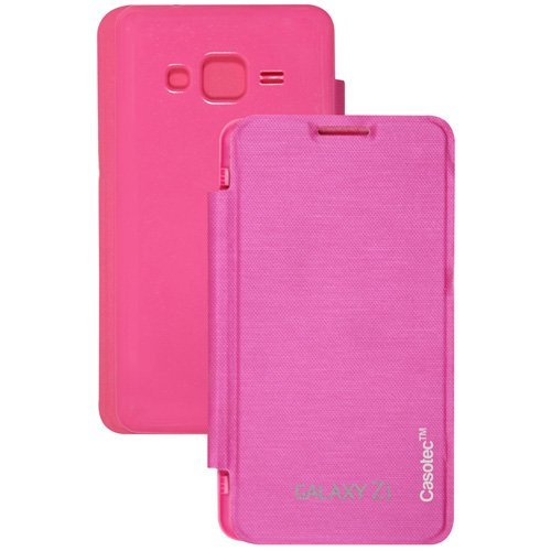 Casotec Premium Flip Case Cover for Samsung Galaxy Z1 - Pink  available at amazon for Rs.109