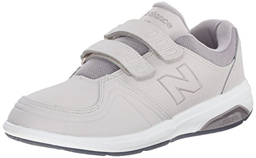 New Balance Women's WW813 Walking Hook & Loop Shoes, Grey/Grey, 10 2A US Grey/Grey