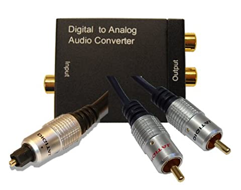Cable Mountain Digital to Analogue Audio Converter Kit