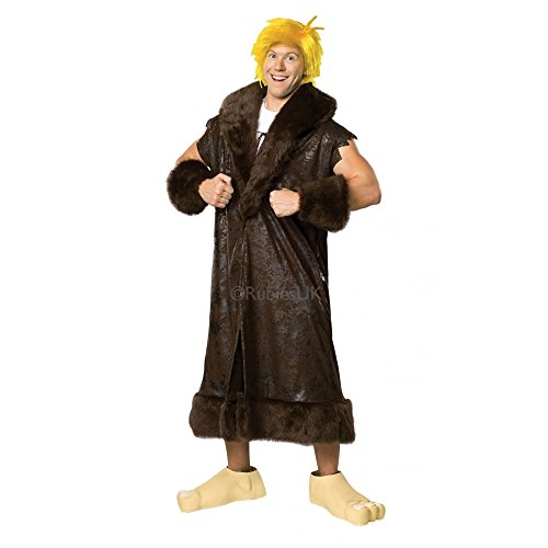 Deluxe Barney Rubble Outfit for Men. Standard or X-Large sizes