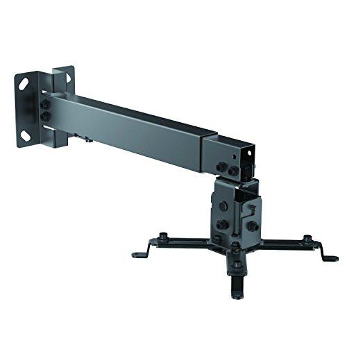 XeReon Universal Wand/Deckenhalterung für Beamer & Projektoren (Beamer Halterung / schwarz)