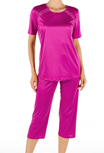Calida sweetie pie capri-pyjama pour femme Rose - 214 pink petunia