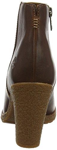 Timberland Damen Tillston Peep-Toe Stiefeletten Braun (Wheat Tbl Forty H37)