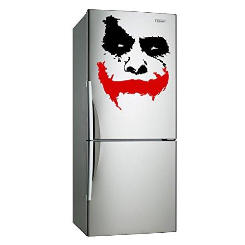 """¿(40 x 33 cm) de vinilo adhesivo decorativo para pared de cara de Joker carcasa """" Por qué para niños?"""" en la película Batman: el caballero oscuro/extraíble Decor Adhesivo de incluye + al azar figura decorativa y calcomanías para regalo!"""