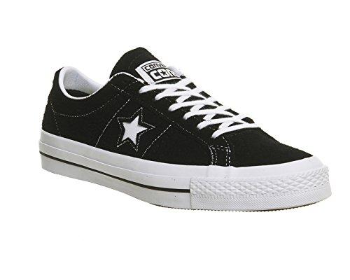 Converse One Star C153064, Baskets Basses Mixte Adulte Noir - noir