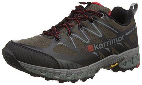 Karrimor - Xterrain, Scarpe da arrampicata Uomo Nero (Blk)