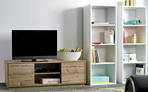 TV-Sideboard, TV-Schrank, HiFi-Schrank, Sideboard fichte - 3