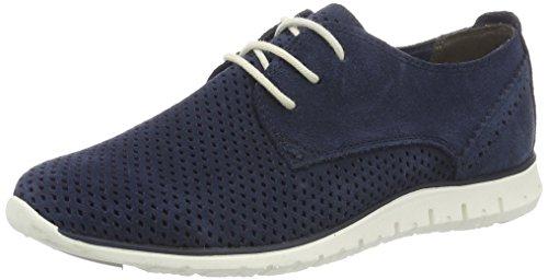 Marco Tozzi Premio 23728, Sneakers Basses Femme Bleu (Navy 805)