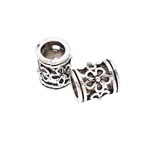 YNuth-2pcs-Perles-Viking-Perle-De-BarbeCheveux-Perles-Pour-Bracelet-Bijoux-DIY