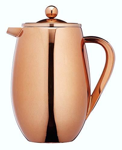 Kitchen Craft Le'Xpress Kaffeebereiter, Isoliert, Metall, Kaffeebereiter, für 8 Tassen, 1Liter,...