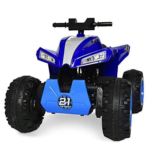 kid go Quad Elettrico per Bambini 12V 4x4 ATV Blu