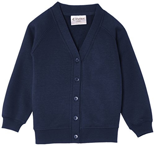 TRUTH & FABLE Unisex 260G Sweatshirt Strickjacke, Blau Marino, 92 (Herstellergröße: 19-20