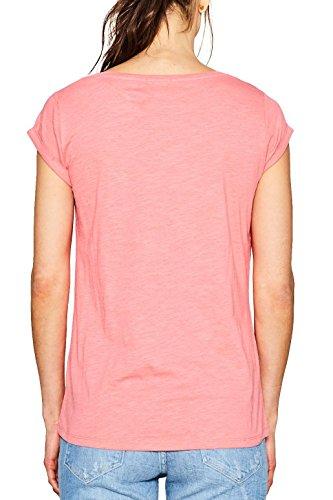 ESPRIT Damen T-Shirt Rot (Coral 645) ...